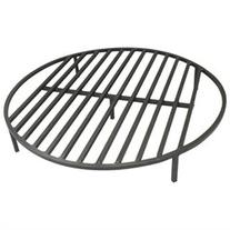 "Round Fire Pit Grate 36"" Heavy Duty Grill Cooking Campfire"