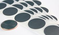 "1"" Round Silver Scratch Off Labels Stickers, 1000 Per Roll"