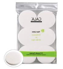 Cala 12 pcs Makeup Round Sponges Non Latex For All Skin