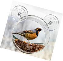Round Window Bird Feeder: Watch Wild Birds Up Close, Great