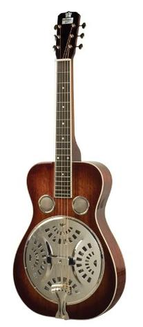 Recording King Squareneck Resonator Guitar, Mahogany,