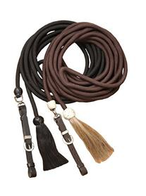 Tough 1 Royal King Braided Mecate Rope Lunge Line, Black