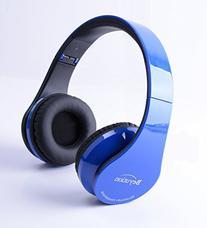 Beyution Wireless Built in Mic Bluetooth Headphone - Red