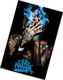 "Trends International Wiz Khalifa Smoke Wall Poster 22.375"" x"