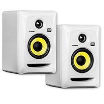 """KRK RP4G3 4"""" High Performance Studio Monitors - White"""
