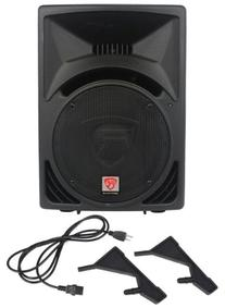 "Rockville RPG12 12"" Powered Active 800 Watt 2-Way DJ PA"