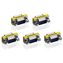 SIENOC 5 pcs 9 Pin RS-232 DB9 Male to Male Serial Cable