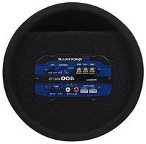 """Rockville RTB80A 8"""" 400 Watt Powered Subwoofer Bass Tube +"""