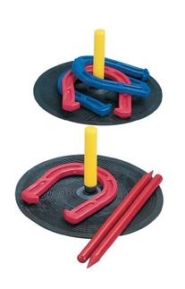 Champion Sports Rubber Horseshoe Game for Tailgating,