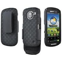 Rubberized Hard Shell Holster Case for Samsung Continuum SCH