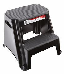 Rubbermaid RM-P2 2-Step Molded Plastic Stool with Non-Slip