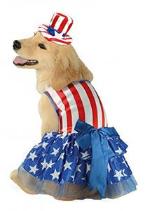 Rubie's 4th of July Pet Costume, X-Large, Patriotic Pooch