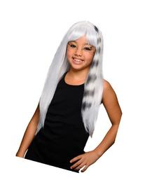 Rubies Child's White and Black Kitty Cat Wig
