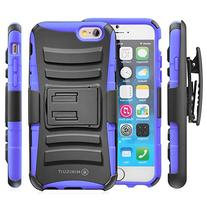 Minisuit for iPhone 6  Rugged Hybrid Kickstand Case + Belt