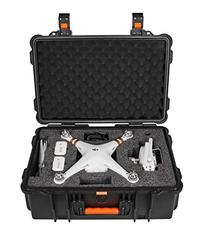DJI Phantom 4 Case and Phantom 4 Pro Case, Waterproof Rugged