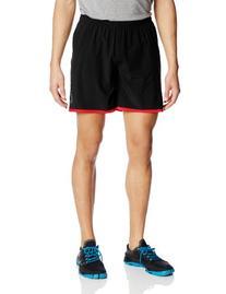 2XU Men's Run Medium Leg Short, Charcoal/Neon Yellow, Large