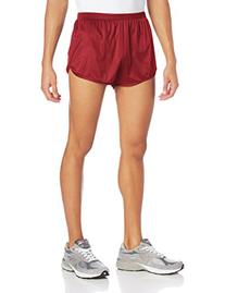 Soffe Men's Running Short Garnet Medium