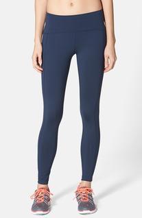 Women's Oiselle 'Go Joggings' Running Tights, Size 2 - Blue