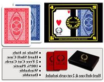 Da Vinci Ruote, Italian 100% Plastic Playing Cards, 2-Deck