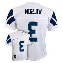 Russell Wilson Seattle Seahawks White NFL Toddler 2014-15