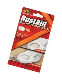Rustaid Toilet Drop In Tabs Peggable Box 3.4 Oz
