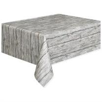 Rustic Wood Printed Table Cover