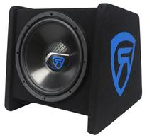 "Rockville RV12.1A 600w 12"" Loaded Car Subwoofer Enclosure+"