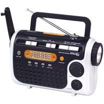 GPX RWB4004SP 7-Channel NOAA Weatherband AM/FM Flashlight