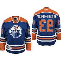 Ryan Nugent-Hopkins Jersey #93 Edmonton Oilers Blue Reebok