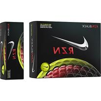 Nike RZN Black Volt High Performance Golf Balls