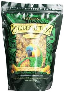 LAFEBER'S Tropical Fruit Nutri-Berries Pet Bird Food, Made