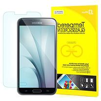 S5 Screen Protector, JETech Premium Tempered Glass Screen
