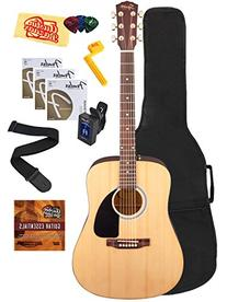Squier by Fender SA-55 Deluxe Acoustic Guitar Bundle with