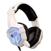 SADES SA-738 PC Gaming Headset with LED with Microphone,