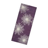 Safavieh Soho Collection SOH712P Handmade Starburst Purple