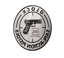 Glock Perfection OEM Safe Action Aluminum Sign