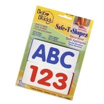 Safe-t-shapes Abc123 Feet Non-slip Safety Applique Stickers