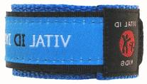 Vital Id Child Safety Adjustable Wristband