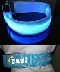 LED Safety Armband Cycling Jogging Walking Reflective LED