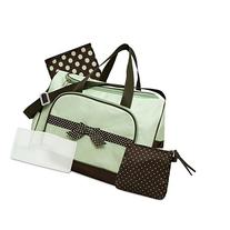 Baby Essentials Sage 4 in 1 Diaper Bag