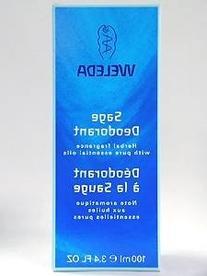 Weleda Sage Deodorant, 3.4-Ounce