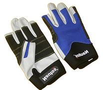 SAILING GLOVE- TWO FINGERS CUT - LEATHER AND SPANDEX LYCRA