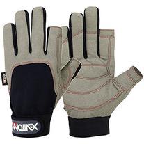 Men's Sailing Gloves Deckhand Gripy Glove Long Finger Multi