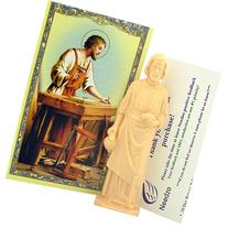 Saint Joseph Statue Home Seller Kit with Prayer Card and