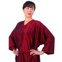 """JMT Beauty Salon Client Gown, Kimono Style, 43"""" Long, 10"""