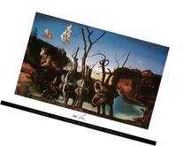 Salvador Dali - Swans Reflecting Elephants Art Print Poster