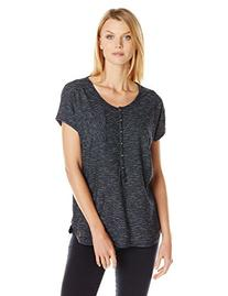 BURTON Women's Salvador Tee, Indigo Stripe, Medium