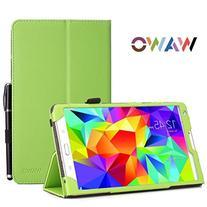 Samsung Galaxy Tab S 8.4 Case - WAWO Premium PU Leather