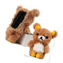 Inspirationc® Soft Cotton Brown 3D Cute Design Toy Bear
