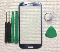 Pebble Blue Replacement Screen Glass Lens for Any Samsung